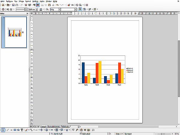 """Det går utmärkt att utforma diagram i """"Libre Office"""" !"""
