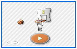 Spela basket