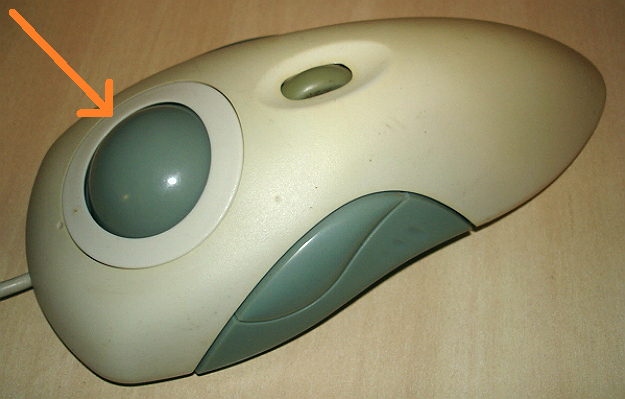 Image  of  a  random  trackball mouse