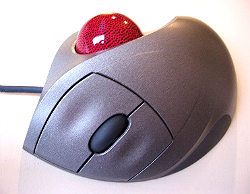 Exemple trackball mouse