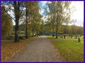 Selångers Kyrkogård, Medelpad, Hösen 2015